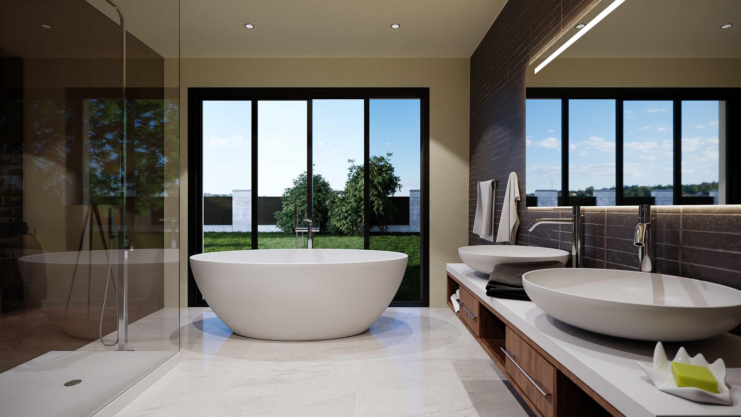 Masterbedroom-badkamer-richting-buiten